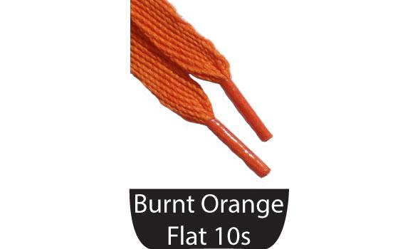 Burnt Orange Shoe Laces