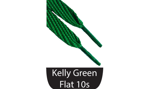 Shoe Flat Laces Green
