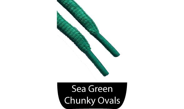 Green Shoe Laces