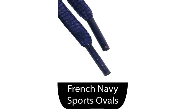 French Navy Shoe Laces The Shoe Lace Companythe Shoe